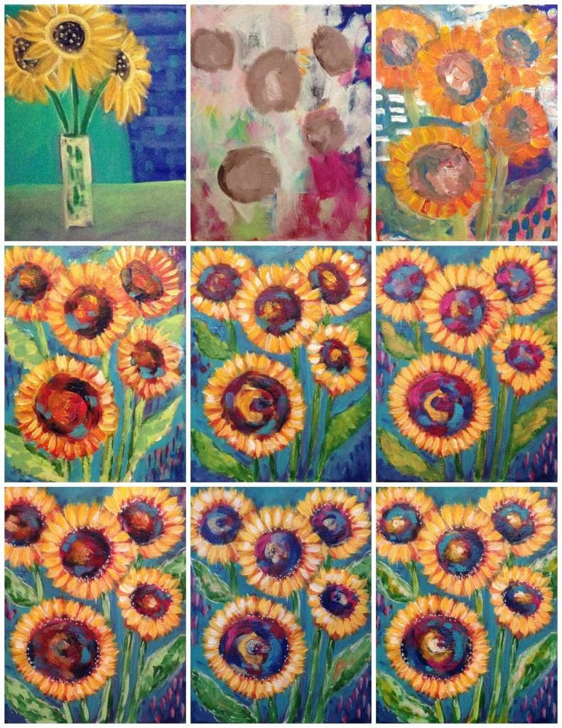 SunflowersCollage