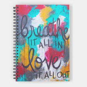 notebook-breathelove