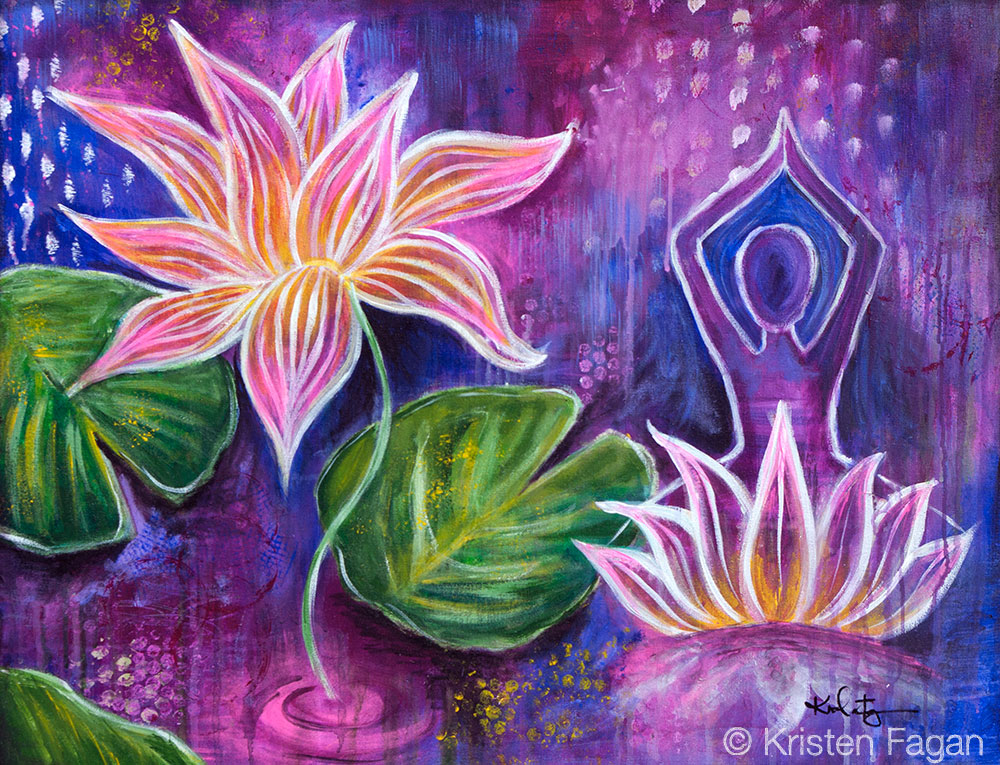 Live like the lotus at ease in muddy water kristen fagan art and live like the lotus at ease in muddy water mightylinksfo